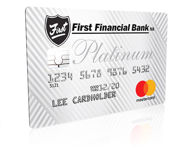 First Financial Platinum Bank Card